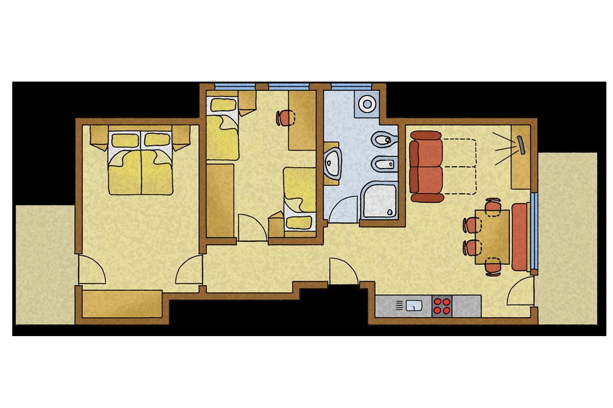 skizze-zenzi-farm-apartment-holidays-bruneck-brunico-neu